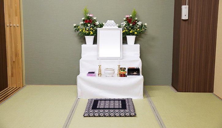服部葬儀社 後飾り祭壇