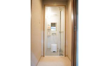 服部葬儀社 家族葬ホールこころ斎場 シャワー室
